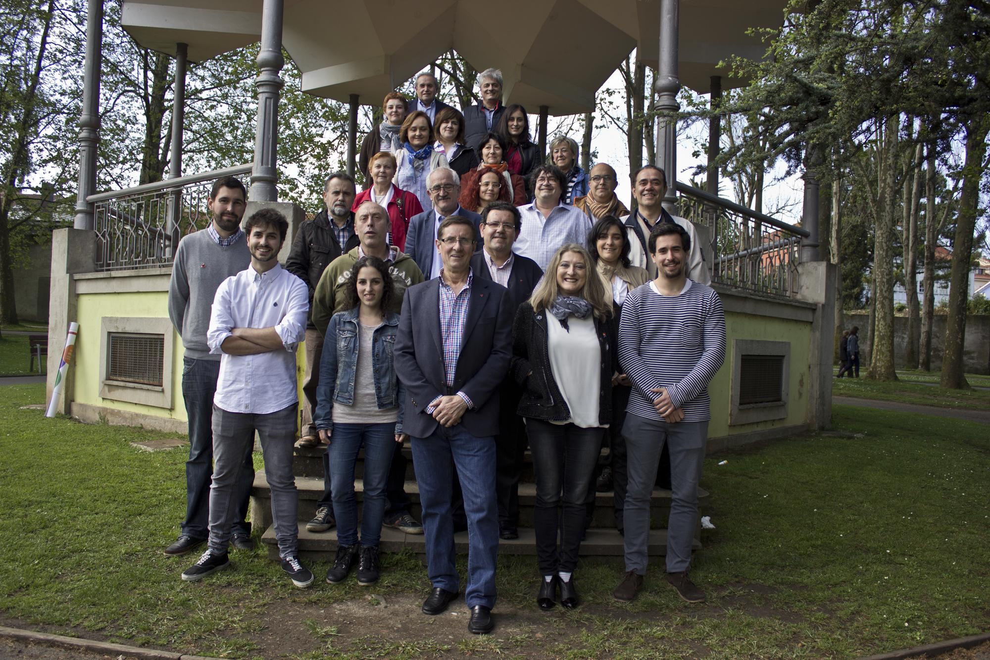 candidatura IU municipales 2015