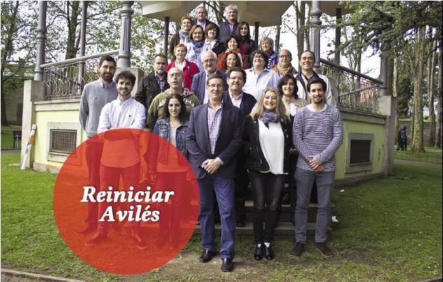 Candidatura IU municipales