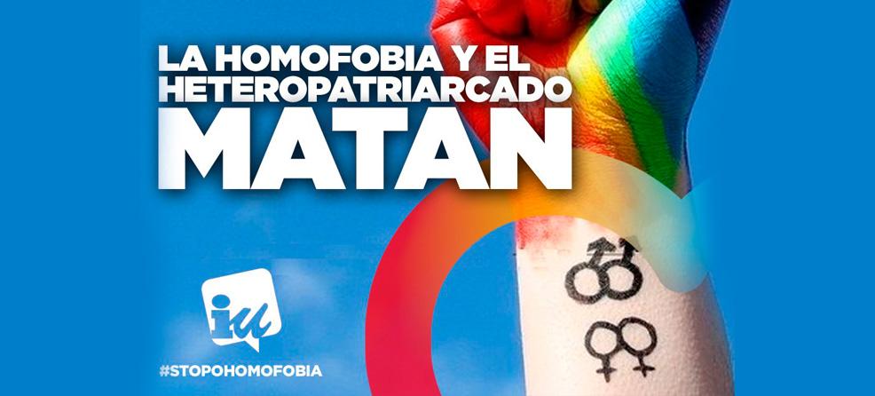 la homofobia y el heteropatriarcado matan